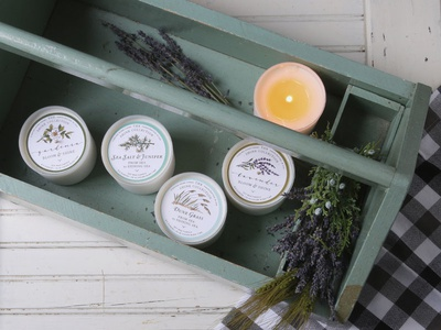 The Shine Collection Soy Candles