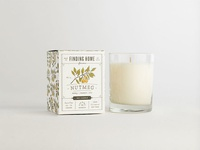 Nutmeg Scented Candle Box