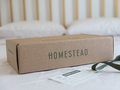 Homestead Sheets Packaging