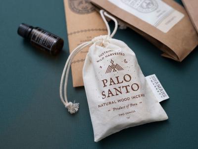 Wood Incense Packaging