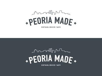 Peoria Made - Logo