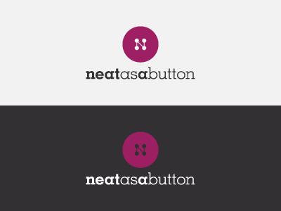 Neat As A Button - Logo