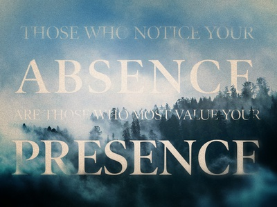 Most Value Your Presence