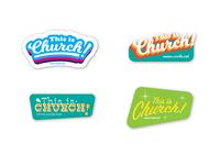 Church Stickers