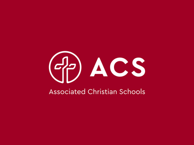 ACS Logo association schools education christian visual identity branding brand logo design logo