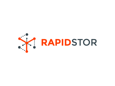 RapidStor Logo storage self storage software bookings branding logo