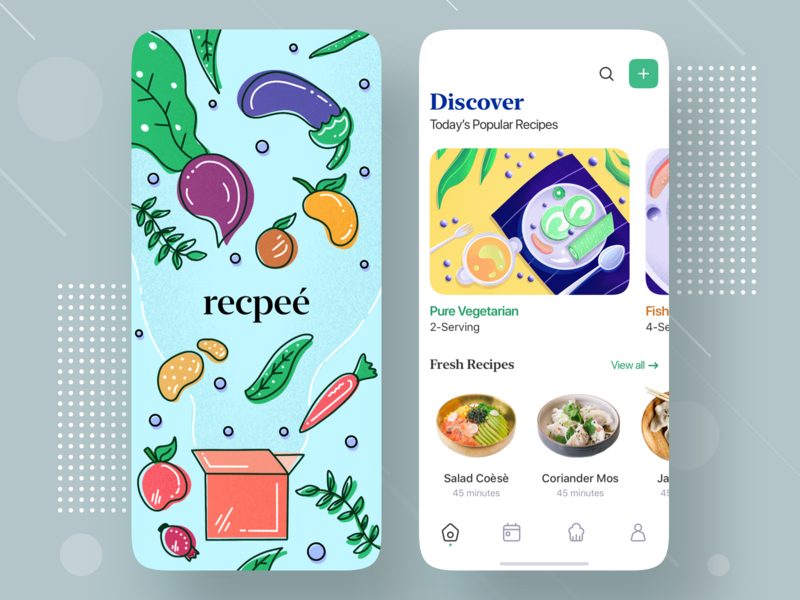 Recipe Mobile App Exploration