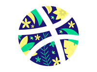 Dribbble - Nature Sticker