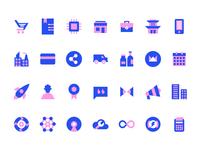 Icons for Webkul Website