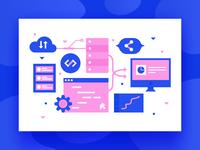 Open Source Integration Illustration