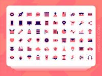 Vivid SVG Icons - Free