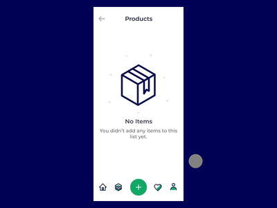 Choose Product Action Sheet View - Interaction Design
