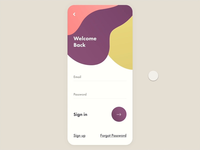 Sign In App UI - Rebound