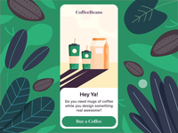 Buy Coffee Mobile App - Interaction Design