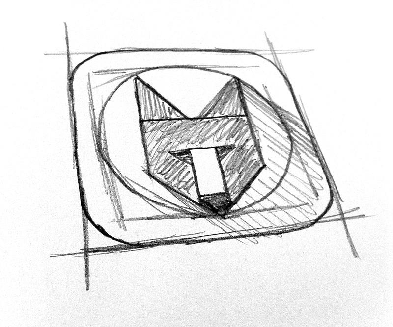 Scribble fox