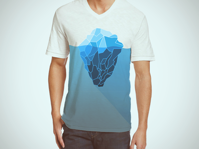 Eisberg Shirt long shadow threadless shirt