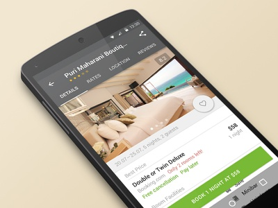 Hotellook redesign aviasales travel reservation interface app mobile redesign android material design hotellook booking hotel