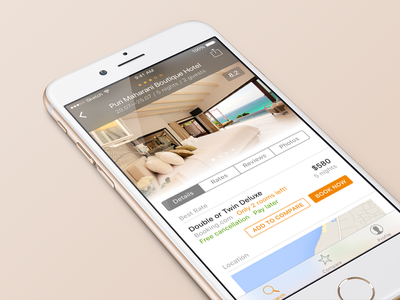 Hotellook redesign aviasales redesign travel reservation ios hotellook hotel booking app interface mobile