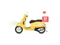 Baidu takeout motorcycle car illustration-2