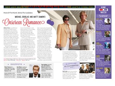Film Buzz Magazine Spread