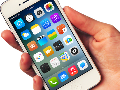 iOS 7 Icons icons ios7 replacement redesign simple flat