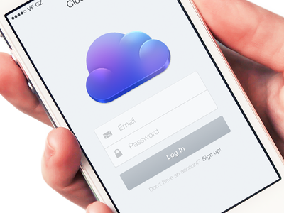 Cloudier iOS7 ios7 ui cloudier cloud app