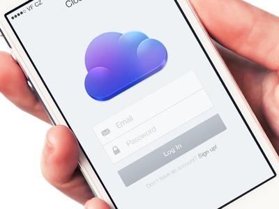 Cloudier iOS7