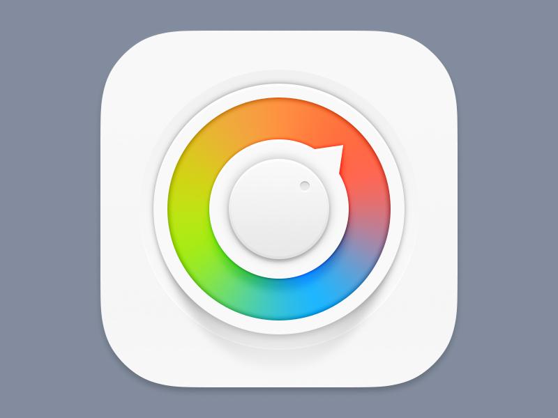 Color Wheel icon app ios palette wheel color