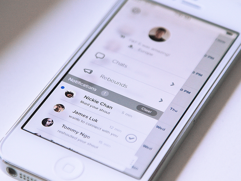 Menu Concept 1 menu ui app interface clean