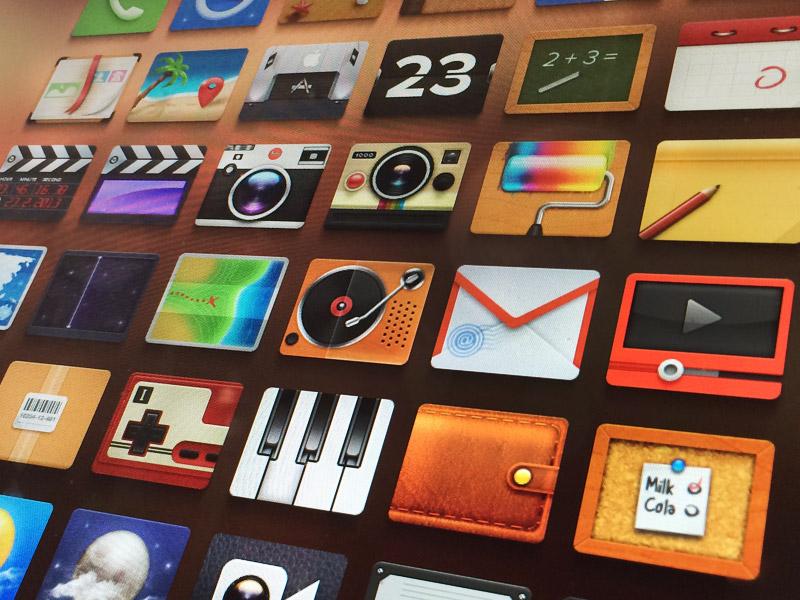 Adore - FREE icons set adore free icon set app ios replacement