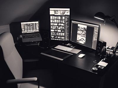 New Setup - Workplace setup workplace apple macbook design