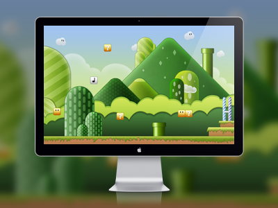 Super Mario Bros DOWNLOAD download super game bros mario display pc lcd mac picture wall wallpaper psd