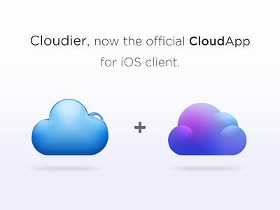 Cloudier Joins CloudApp cloudier ios app cloudapp cloud apple design