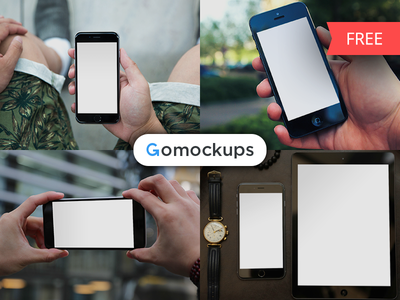 Freebies on Gomockups.com gomockups macbook ipad iphone mockup mockups freebies free