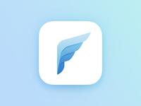 """P"" App Icon"
