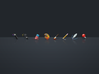 Photoshop Tools icons
