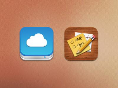 iOS icons PSD ios icons psd free