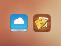 iOS icons PSD