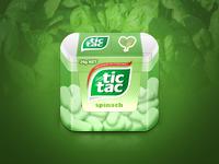 Tic-Tac Spinach Box