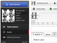 Youtube UI Design (free resource)
