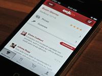 Ordr.in app UI