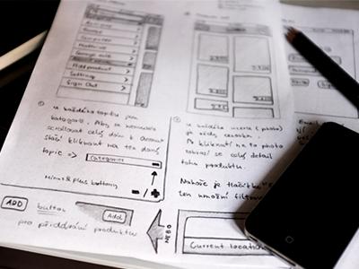 Sketch the mocks sketch mockup paper pencil ui app ux