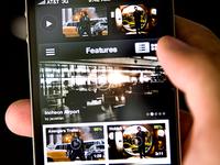 YouTube+ App User Interface