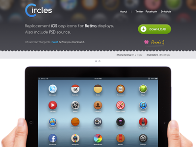 The Circles - AVAILABLE NOW circles icons replacement ios