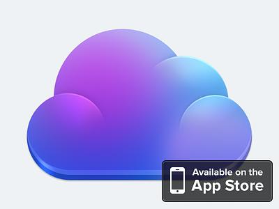 Cloudier is OUT! cloudier app ios store ui clean simple cloud cloudapp