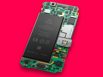 Smartphone Logic Board