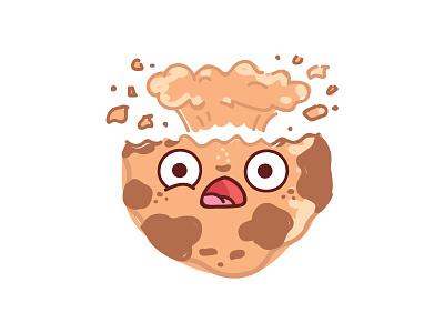 🍪Cookie Moji 🍪 drawing emotions emoji smiles tasty telegram kawaii food cookie icons illustrations stickers cartoon doodle vector character cute
