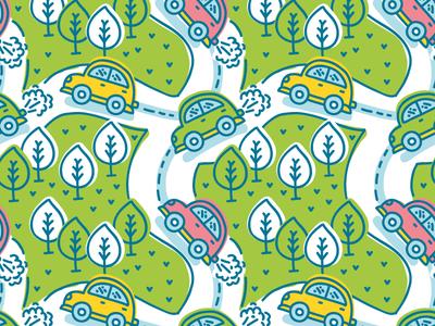 Road trip pattern!