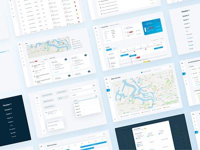 Qronoport webdesign interface ux design ui