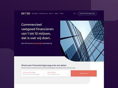 OIMIO development webdesign interface ux ui design